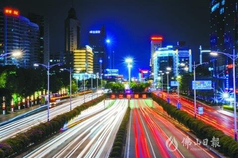 禅城构建核心交通圈内联外通 拓展城市发展空间