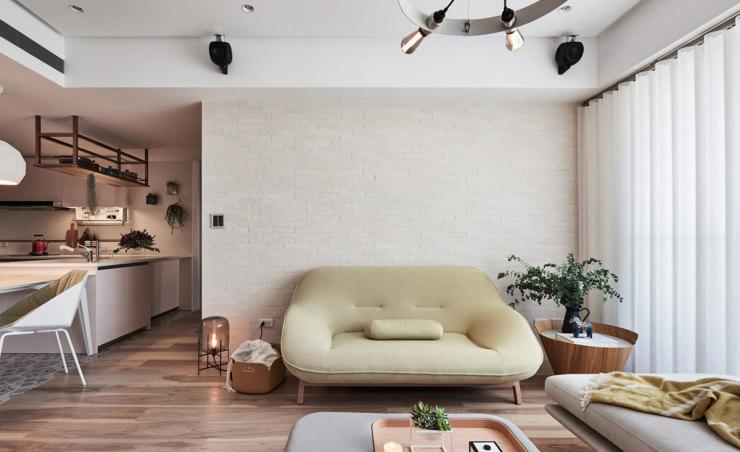 芜湖现代北欧装修设计 适合年轻人居住的韵味