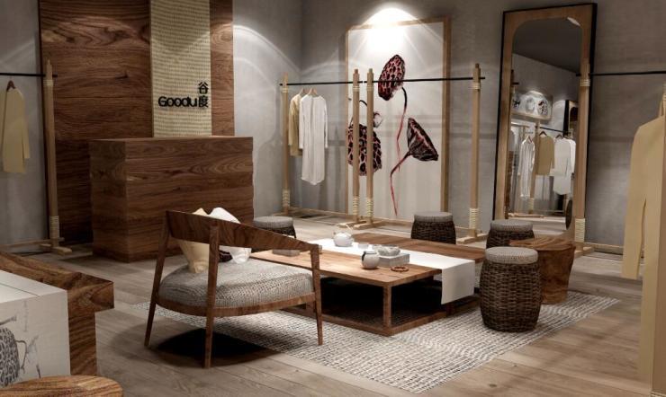 谷度亚麻女装店,您的2018创业加盟首选