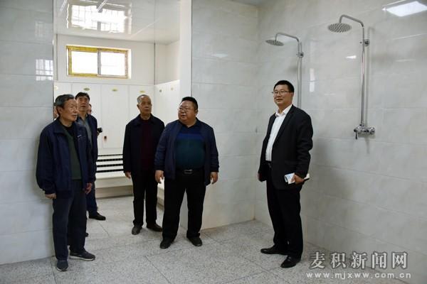 """天水首个""""中国关心下一代教育示范基地""""配套设施项目建成完工"""