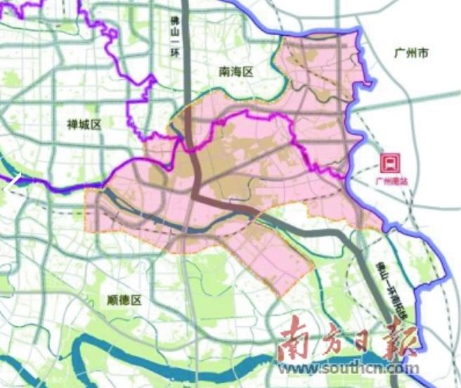 广州创新大脑+佛山转化中心!广佛规划153.5平方公里示范区
