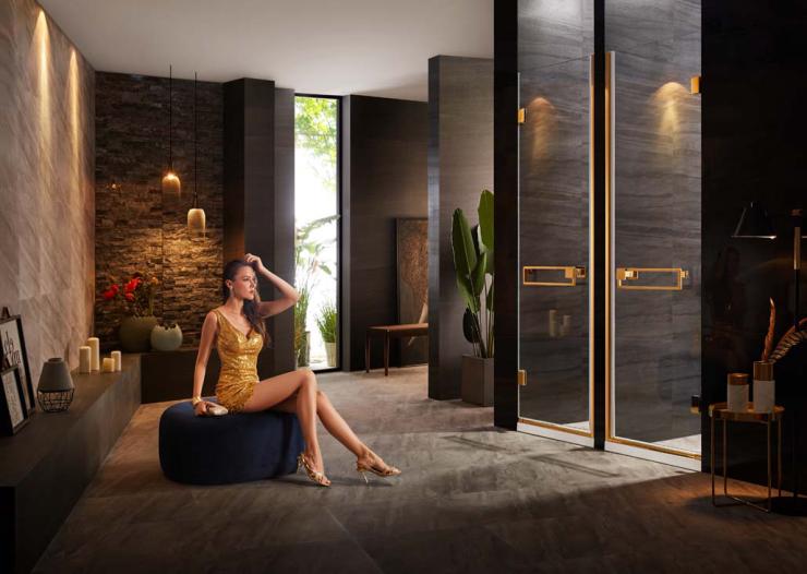 希尔顿酒店同款淋浴房  德立淋浴房让你体验星级卫浴享受