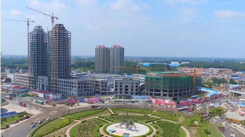 经过近6年的高速发展,商丘梁园区特色商业区日趋丰富!