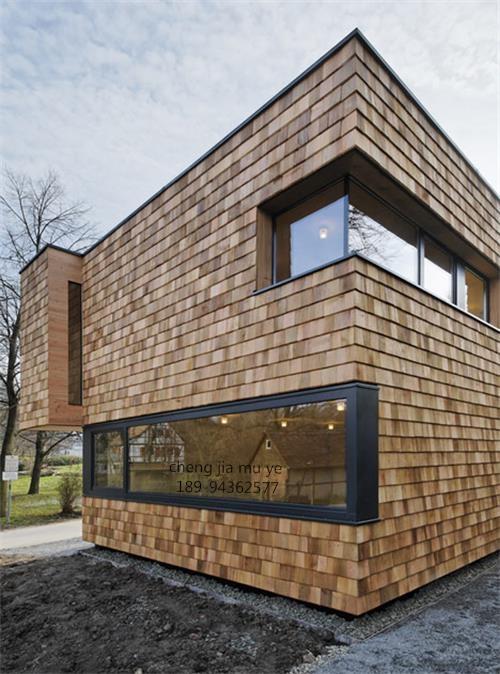 木瓦屋顶外墙这么美,木瓦每一种装修风格都能让你怦然心动!