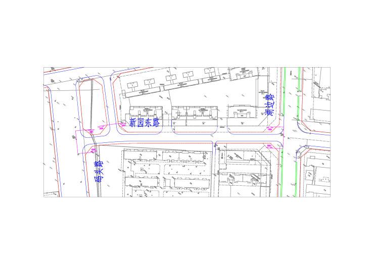 黃山市中心城區新園東路、蘋果山路、雀山路暢通工程方案公示