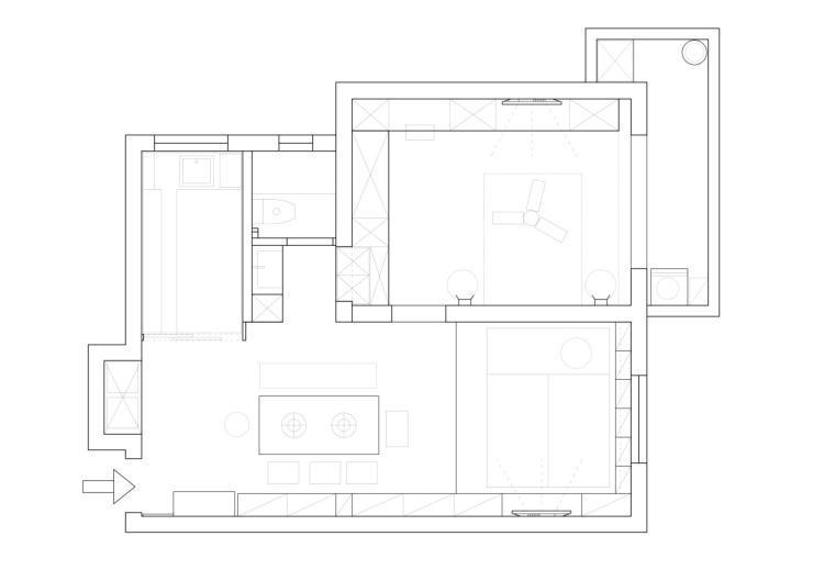 老改新30万爆改60平破旧老房,打造日式单身公寓鉴赏