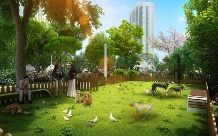 实力远洋,再铸港城 5H景观体系打造健康人文大宅