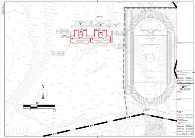 恒大绿洲一号院三期项目建筑工程设计方案总平面图公布