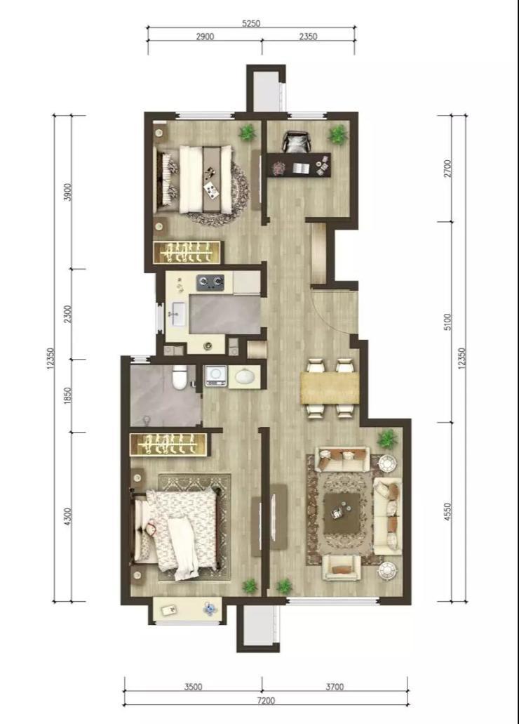 北京城市格局变换,买房子提前抢占核心区,这个核心区项目样板间
