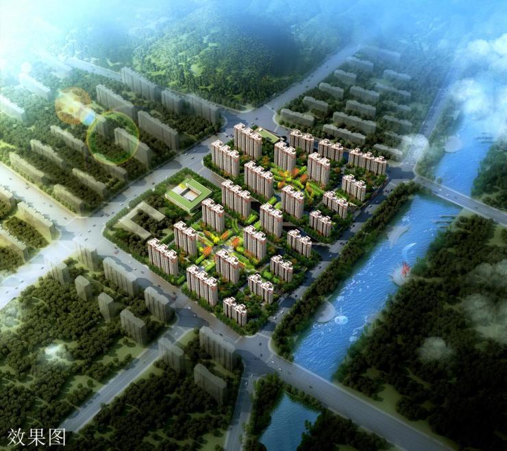 中新锦绣天地:建筑面积约110