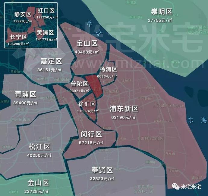 最新一线城市房价地图 朝阳在售别墅推荐