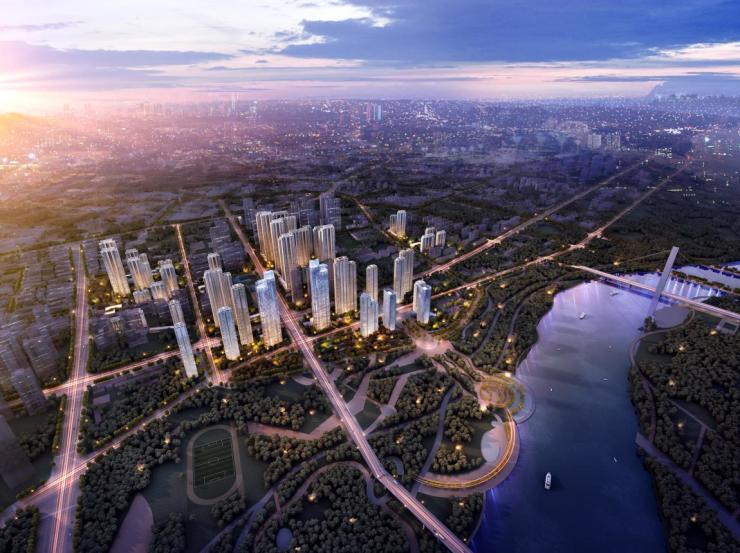 保利国字系首入武汉,滨江之畔,再造高端改善人居