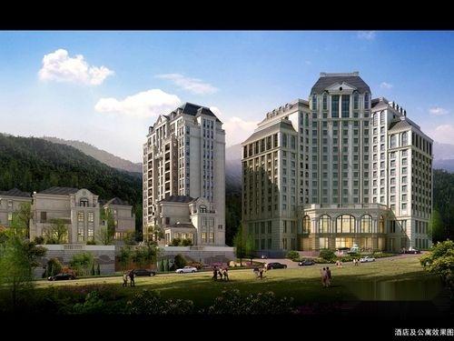 合盛·东港山庄效果图a酒店和公寓