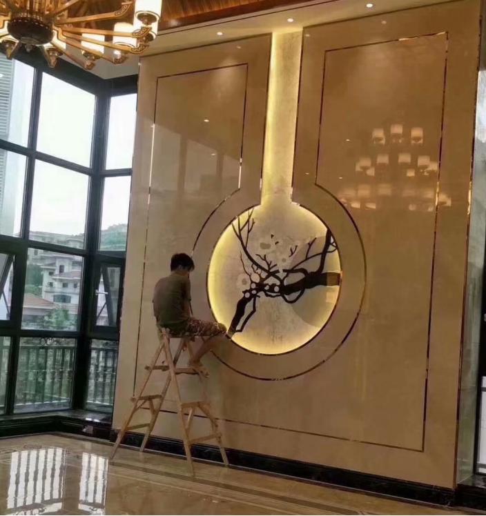 南京客厅贴瓷砖还是乳胶漆,先看看你的装修预算吧