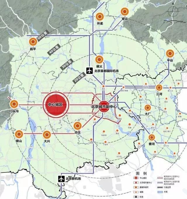 统一规划——助力香河发展 提升其区域价值