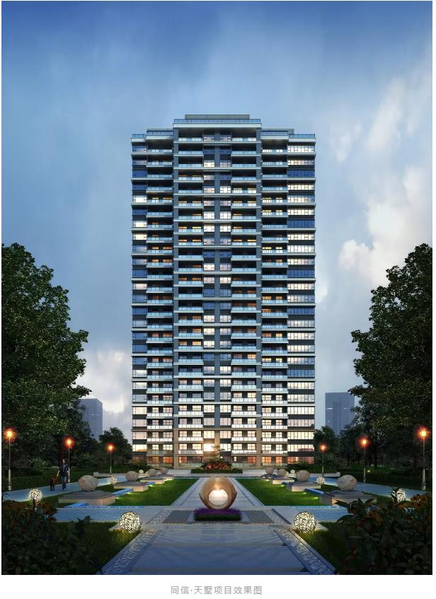 商丘西城區的一顆閃耀之星,一座融合高層與商業的光影系現代建筑