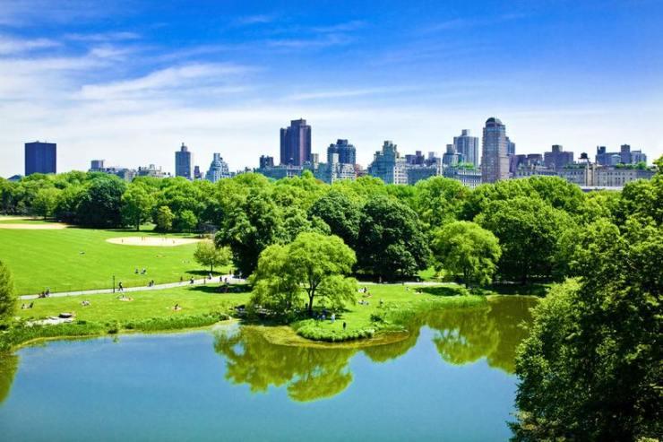 在杭州城央,有一座墅,窗外就是2座『纽约中央公园』