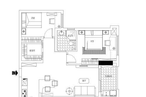 建阳建发悦城户型图户型图3室2厅1卫1厨