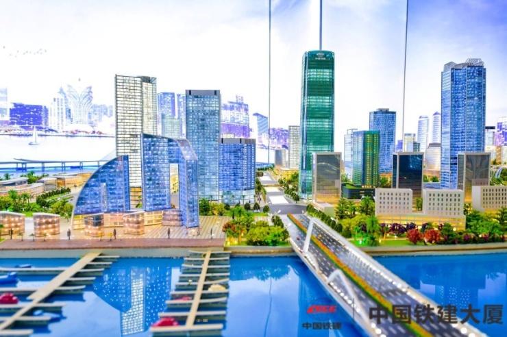 粤港澳大湾区美好生活摄影大赛开幕 中国铁建大厦工地同步开放