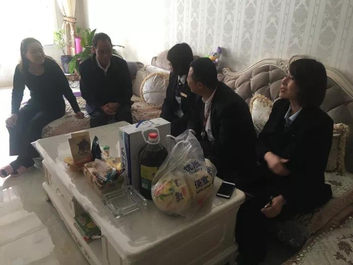 永泰城物业品质提升   暖心家访,关怀业主