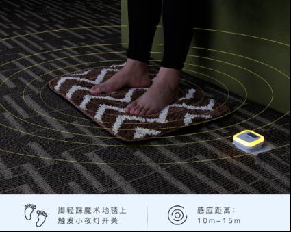 『魔术揭秘』神秘地毯如何点亮夜行路