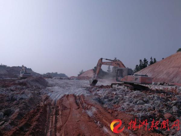 株洲县加速融城步伐 项目建设鼓声急