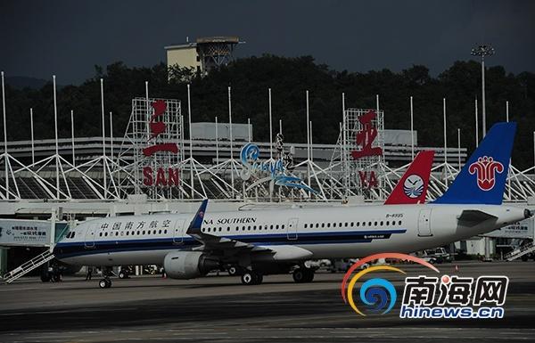 三亚凤凰国际机场2017年客流量突破1938万