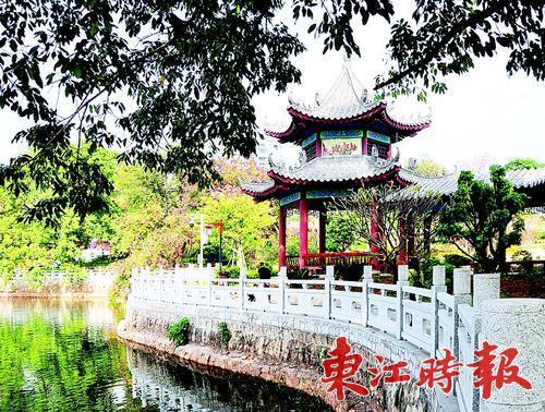 西湖荔浦风清公园主体工程完工 目前已开放
