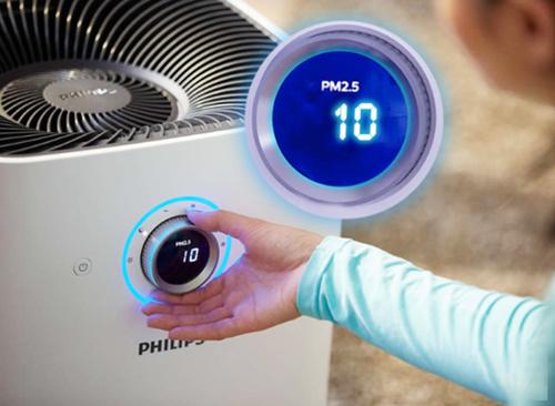 凈化一目了然,每個房間都能安心呼吸健康空氣