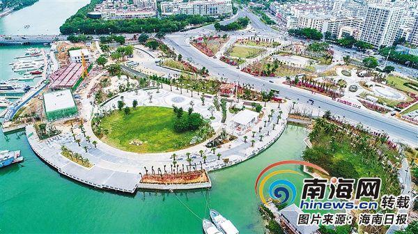 三亚鹿回头滨河公园将在一月底向市民游客开放