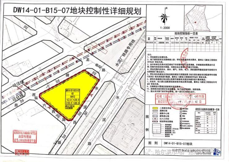 汇龙摘道外2宗商住用地 成交楼面价3120.2元/㎡起哈尔滨插图(2)