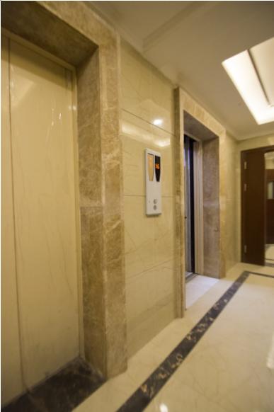 中铁•骑士府邸电梯公装渐露真容,细琢见品质