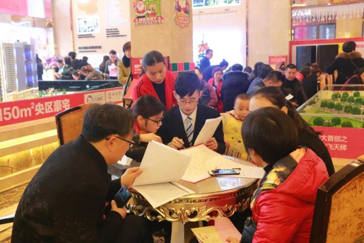 金钟大雁城·中央公馆内部解筹活动引爆全城!