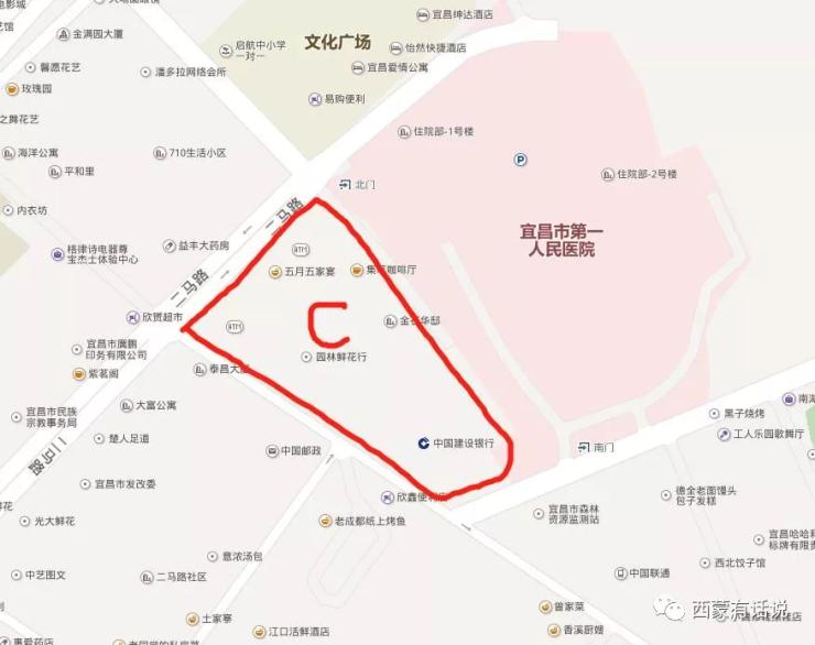 宜昌一医院详细规划,比你想象中大很多!