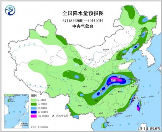 江汉江淮江南地区将有大到暴雨 东北华北等地多雷雨天气