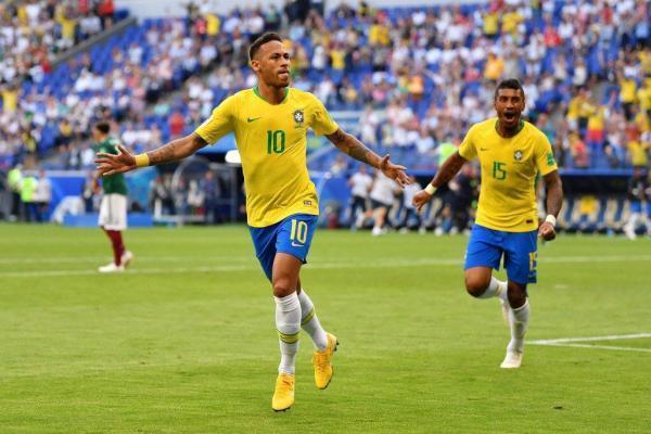 拒绝冷门!巴西2比0击败墨西哥,内马尔闪耀表现令梅罗汗颜