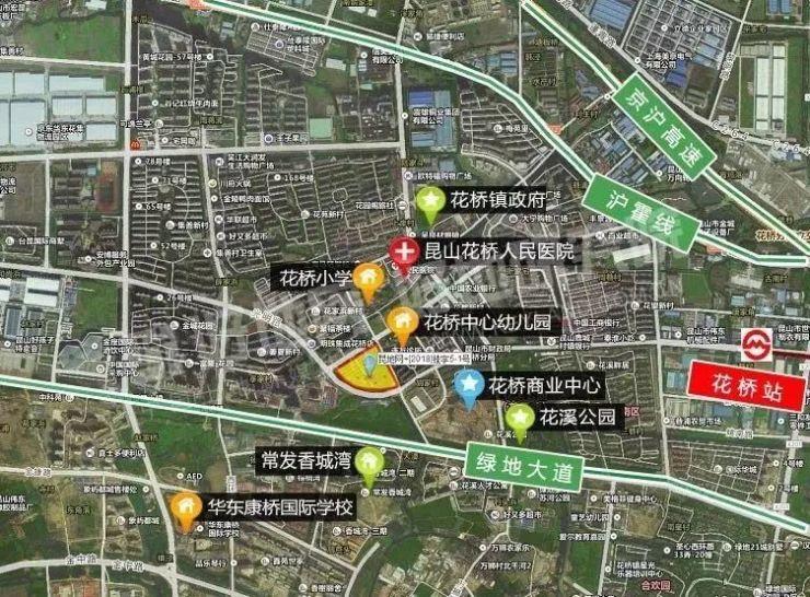 重磅!环沪超级城市昆山63.2亿土拍来袭,花桥该地块亮点十足…