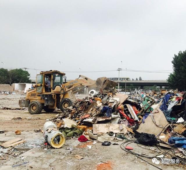 北京朝阳王四营乡20天拆除20年老市场