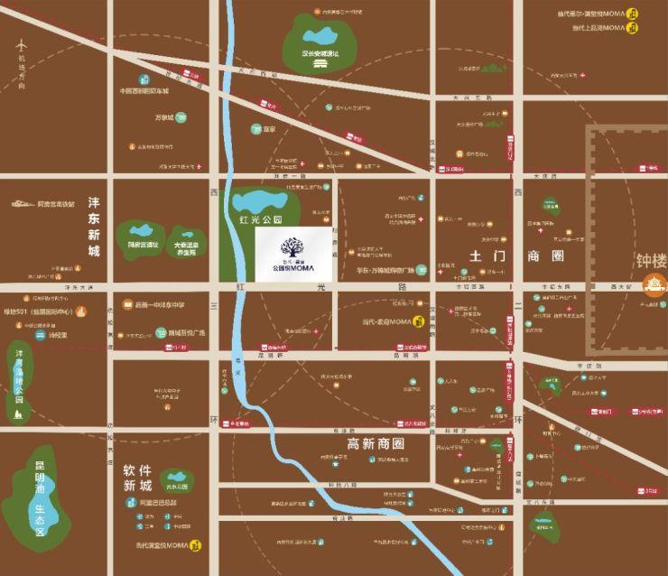 """隱形的西安""""東西軸線"""",藏著城市發展秘密"""