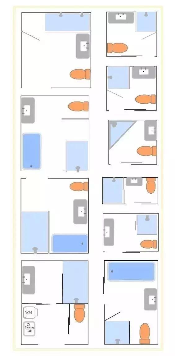 卫生间干湿分离的设计,如何做到好看又实用?