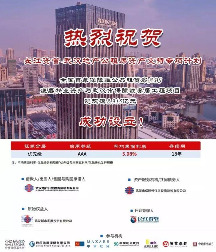 首单公租房8.9亿ABS成功设立