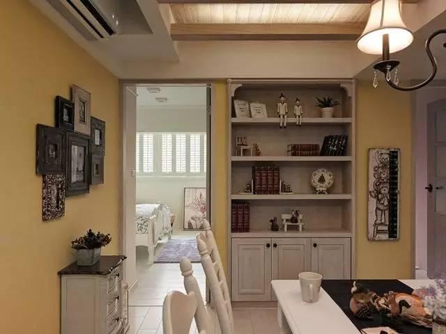 无拘束的装修风格,让家安静舒适!